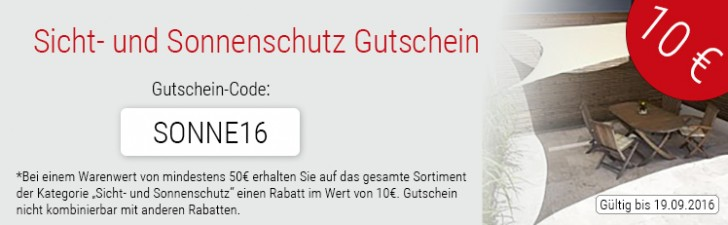 expert security sonne 16 Gutschein