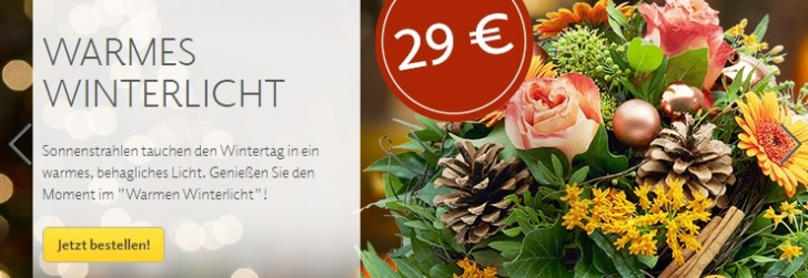fleurop winter gutscheine sale