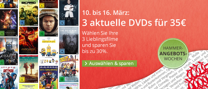 hugendubel 3 dvd 35 euro