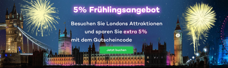 attraction tickets direct 5 rabatt auf alle unsere london tickets