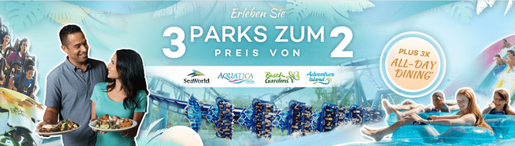 attraction tickets direct 3 parks zum preis von 2 plus 3x all day dining
